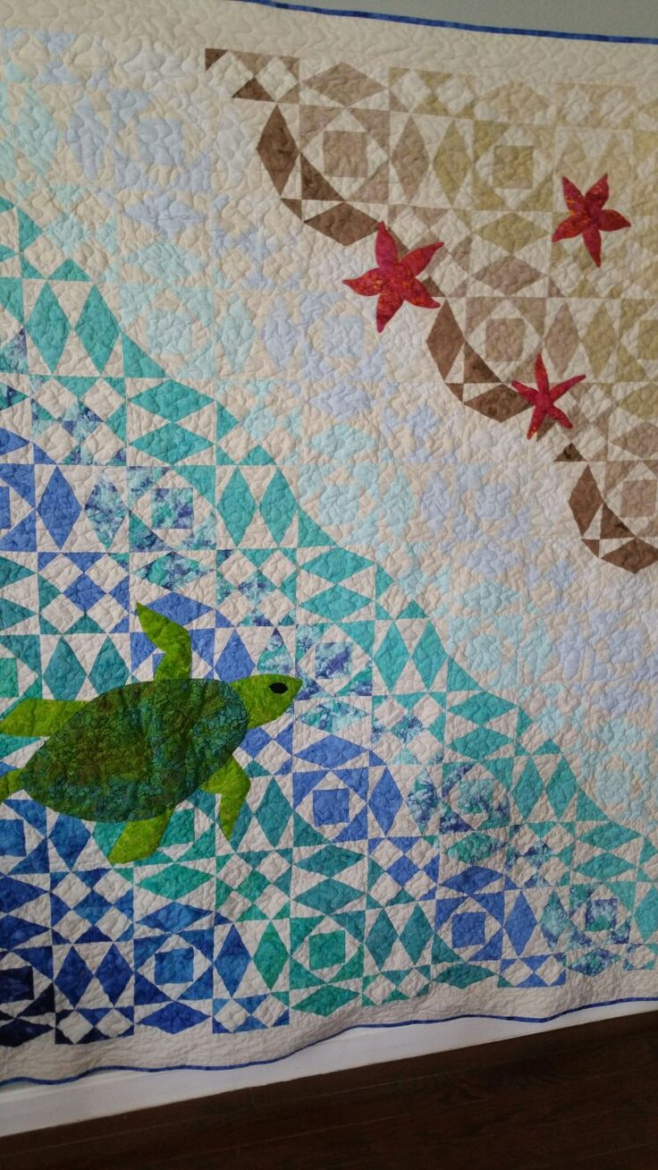 Sea Turtle Template For Quilts
