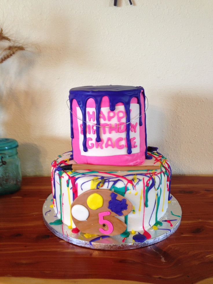 Paint Can Cake Cakes I Have Made Pinterest Can