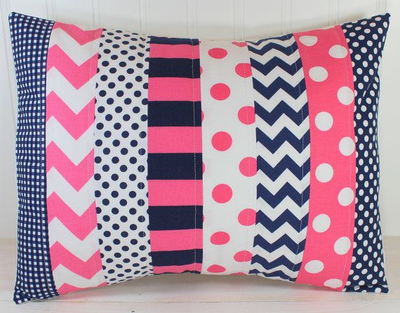 Pillow Cover, Baby Girl Nursery Decor, Bedroom Throw