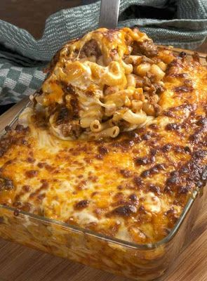 Cheesy Macaroni with Beef – Recipes, Dinner Ideas, Healthy Recipes & Food Guide