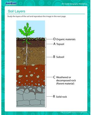 SCIENCE Earth : Soil Layers - Download the free printable ...