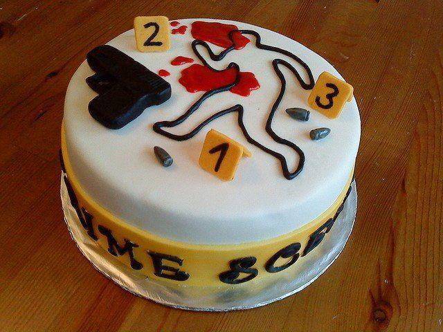 Csi Cake Cakes Pinterest Cakes
