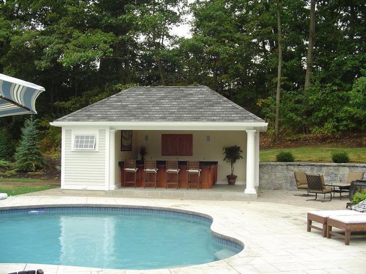 Best 20+ Pool House Shed Ideas On Pinterest