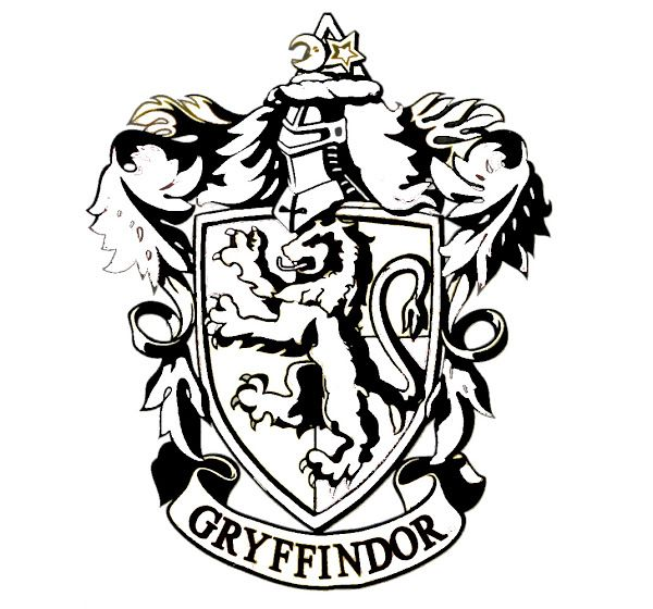today i recommend harry potter hogwarts crest coloring