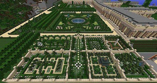 Minecraft Garden Layout Design Ideas 11082 Garden Design