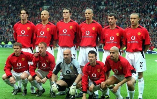 United line-up Vs Real Madrid in 2003 | Manchester United ...