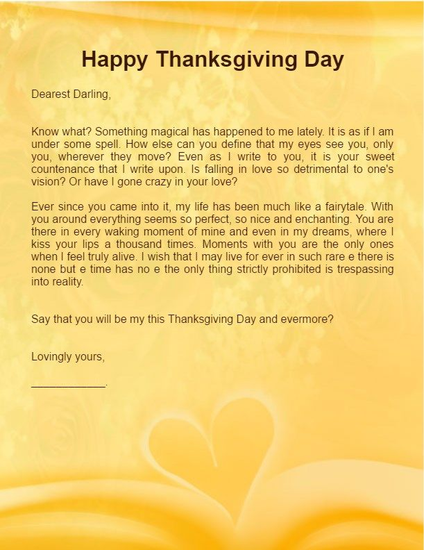 Thanksgiving Love Letter For Boyfriend Husband Happy Thanksgiving Images Wishes 2016