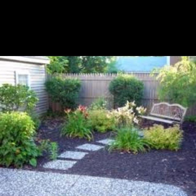 Grassless backyard inspiration.. | Dream Home Outdoor ... on Grassless Garden Ideas  id=94190