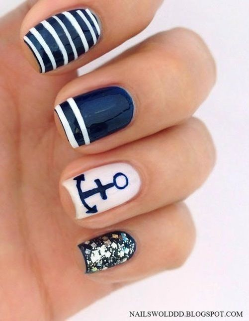 that is cute however I dont think I have that much talent to do that Summer Nail Art Design Ideas