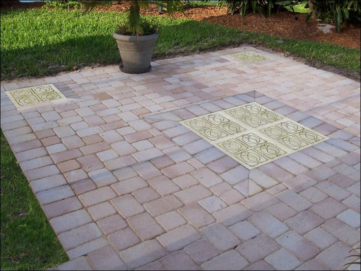 16 best images about Patio on Pinterest on Stepping Stone Patio Ideas  id=54260