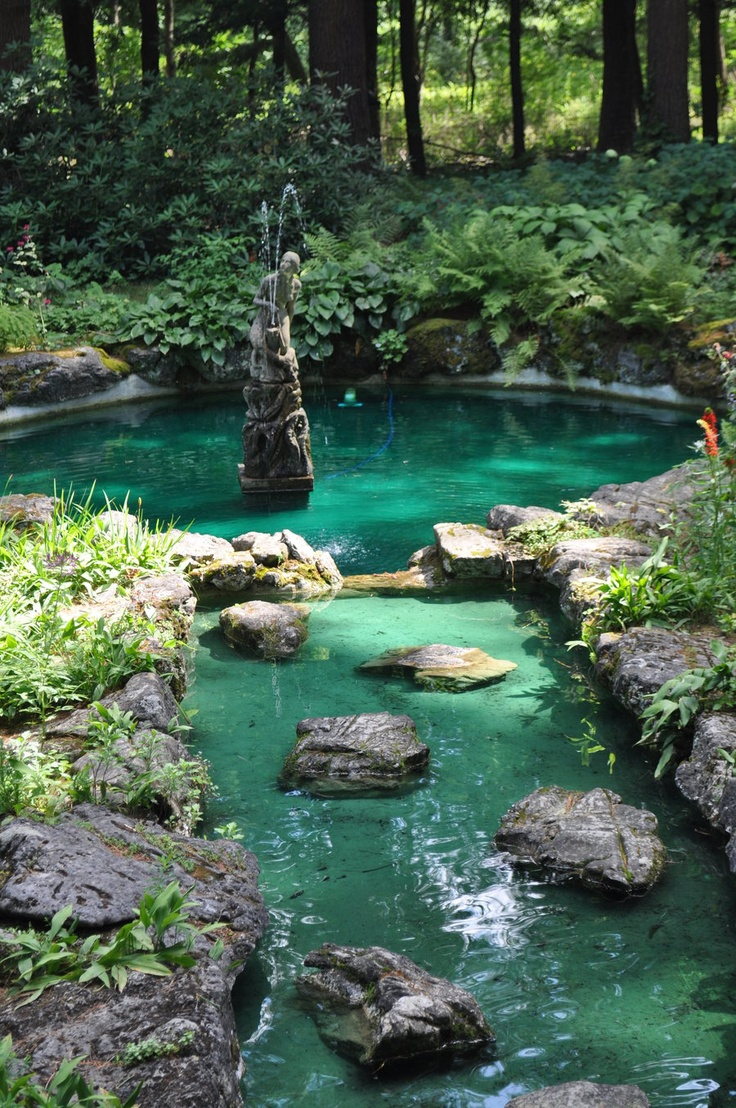 765 best images about Backyard waterfalls and streams on ... on Backyard Stream Ideas id=32223