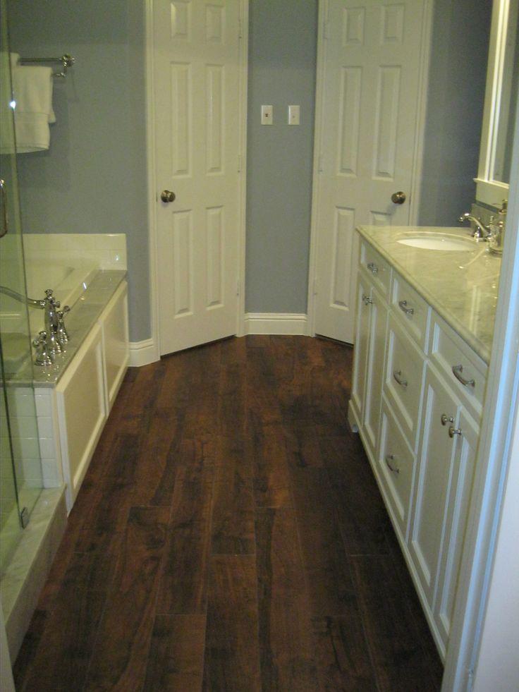 My Bathroom Redo American Tile And Stone Aspen Pecan