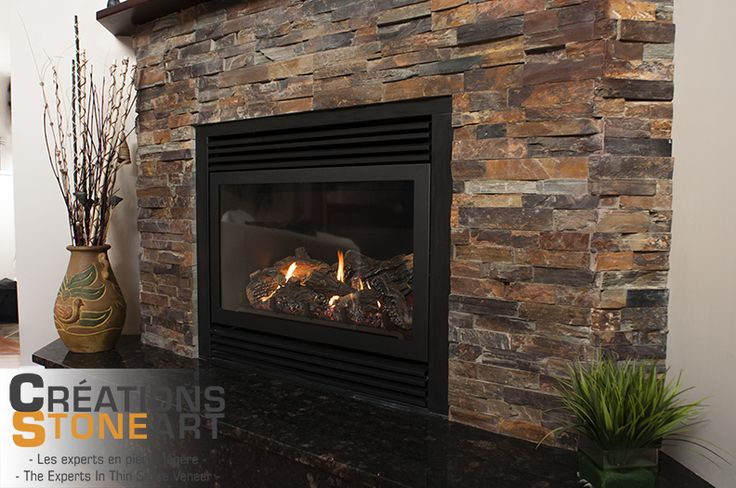 Fireplace Done With Terracotta Ledgestone From Realstone