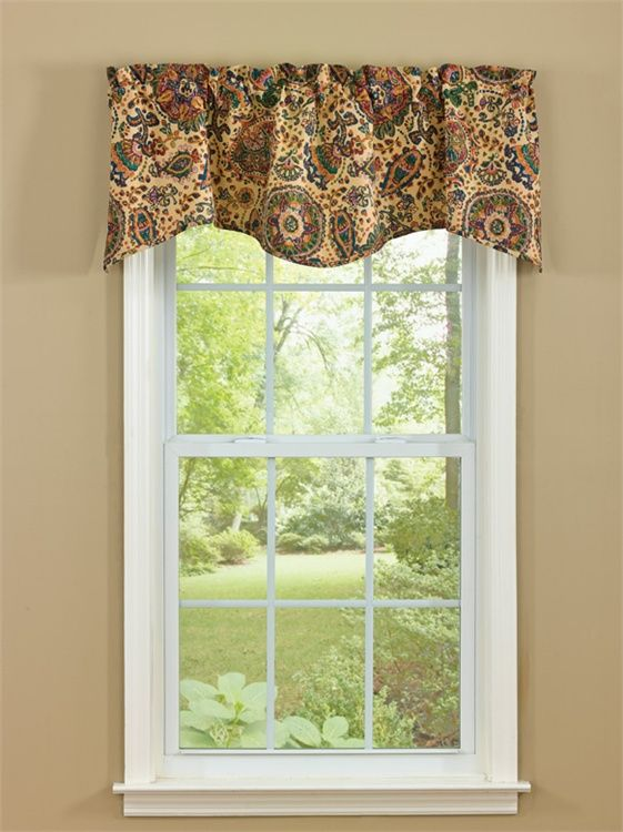 Jewels Lined Wave Curtain Valance 58 X 18 Park Designs Curtains Pinterest Curtain
