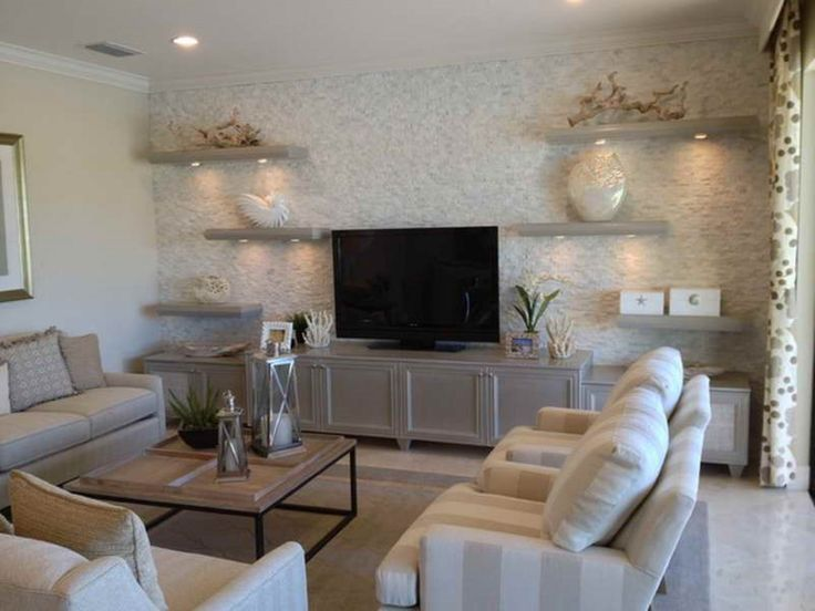 modern floating shelves and tv stand on nautical living on incredible tv wall design ideas for living room decor layouts of tv models id=31876