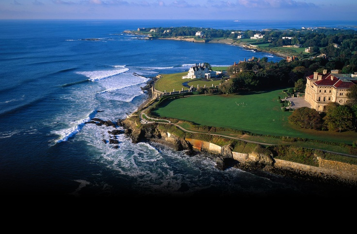 Stunning Cliff Walk – Newport, RI