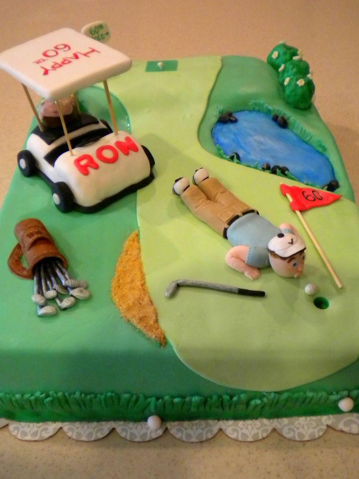 Best 25 Golf Birthday Cakes Ideas On Pinterest