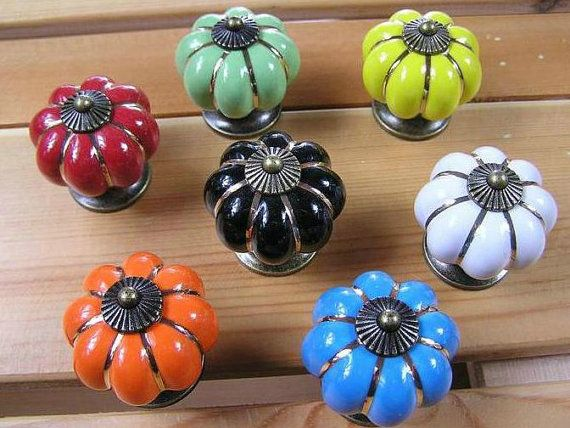 Ceramic Kitchen Cabinet Knobs Dresser Drawer Knobs Pulls