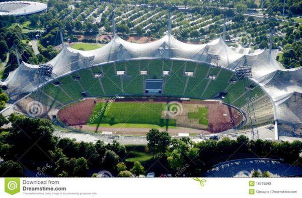 Munich Olympic Stadium, inspired by spider web (Germany ...