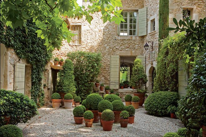 french style landscaping potted plants landscape design on wall street journal login id=53291