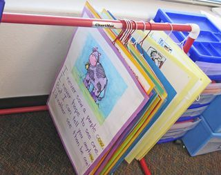 1000 Ideas About Poster Storage On Pinterest Classroom Ideas Homework Box And Daycare Cubbies