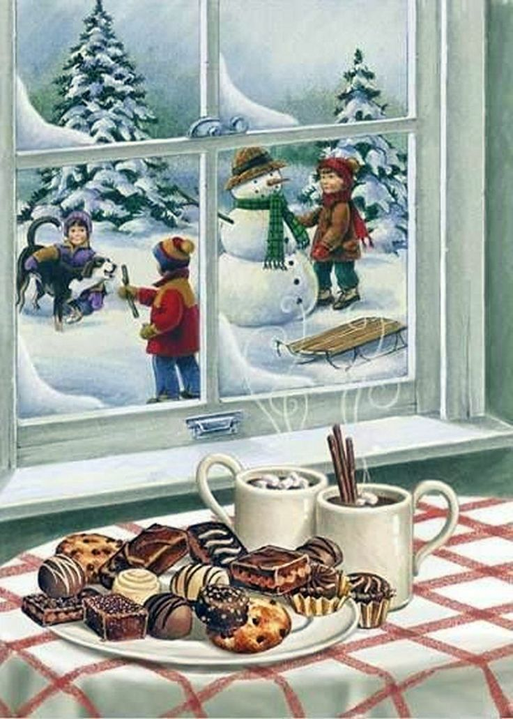 An Old Fashioned Christmas Vintage Cards And Scenes
