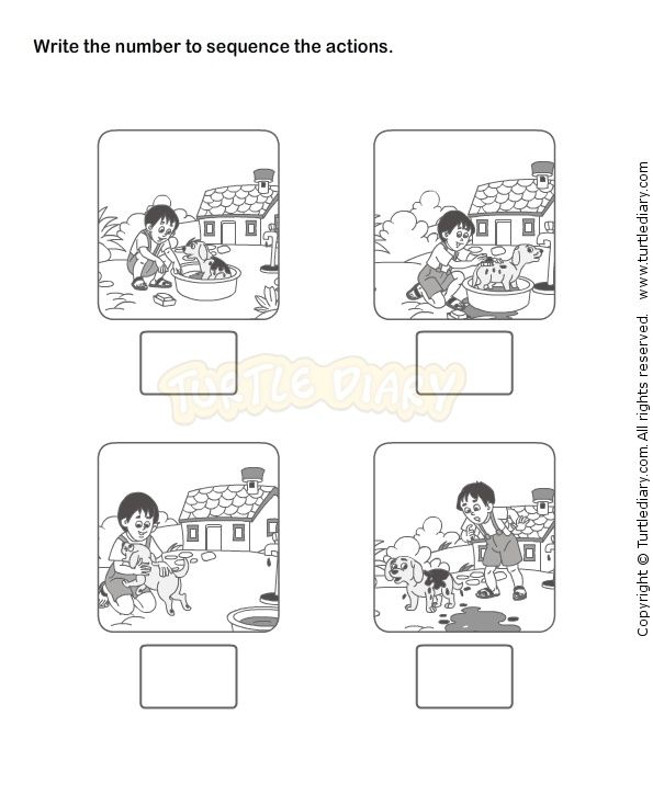 Pattern And Sequencing Worksheet