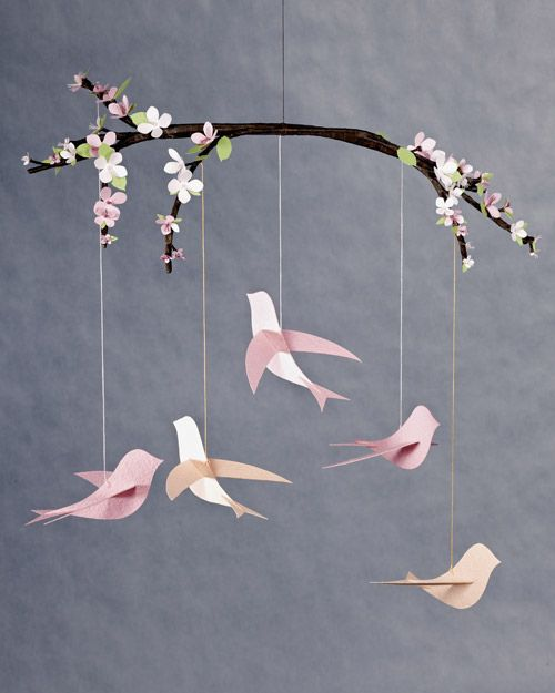 A collection of paper birds with instructions and templates - flat, 3D, origami - some cute ones here! #PaperCrafts #Birds #Crafts - pb†å: