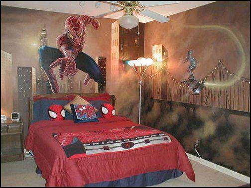 37 Best Images About Michael Room On Pinterest Spider