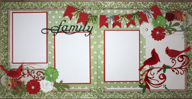 17 Best Images About Christmas Scrapbook Layouts On