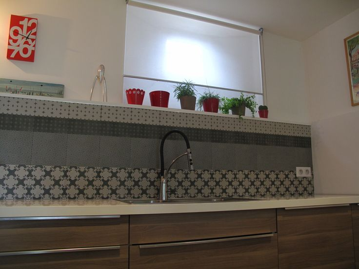 Credence En Carrelage MUTINA Serie Azulej Kitchen