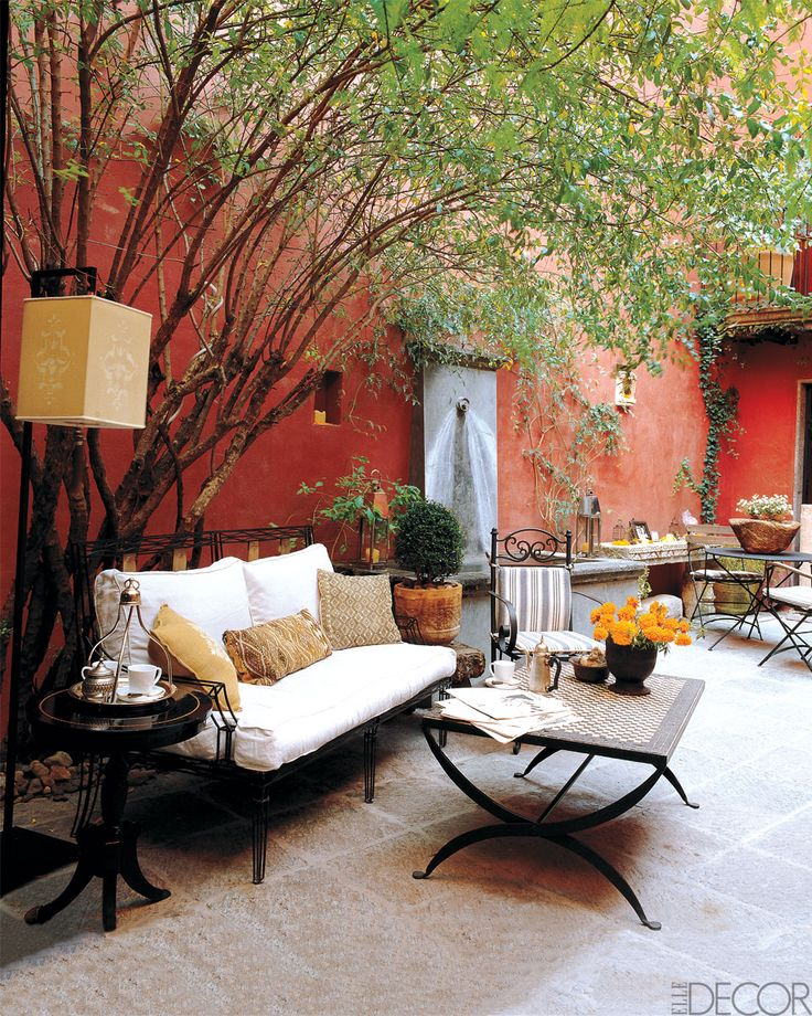 174 best images about Garden Patio Ideas on Pinterest ... on Mexican Patio Ideas  id=71704