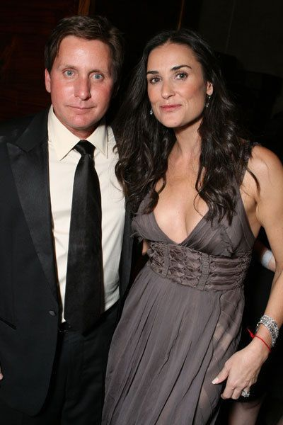 Emilio Estevev Amp Demi Moore They Dated During The St