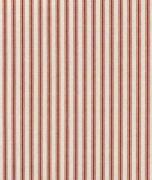 Waverly Timeless Ticking Crimson Fabric Fabric Online Online Fabric Stores And Window