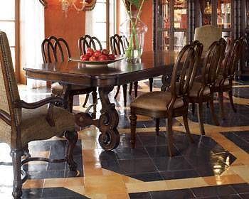 Thomasville Furniture Ernest Hemingway Anselmo Rectangular