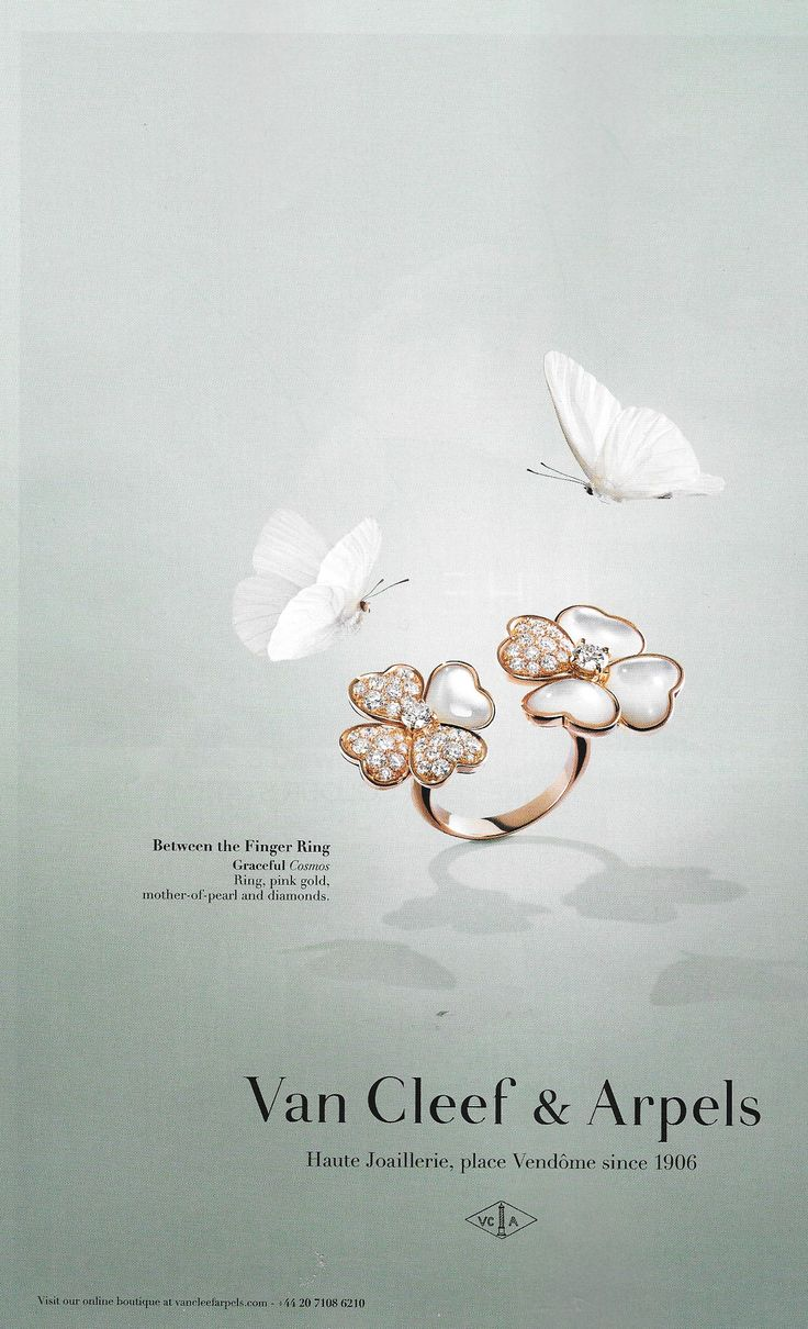 Van Cleef Amp Arpels Between The Finger Ring Campaign THE