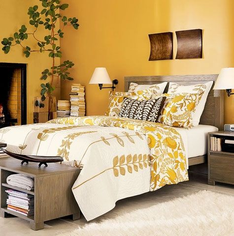 I Want To Redo Our Bedroom With A Warm Inviting Yellow Like This And Incorporate More