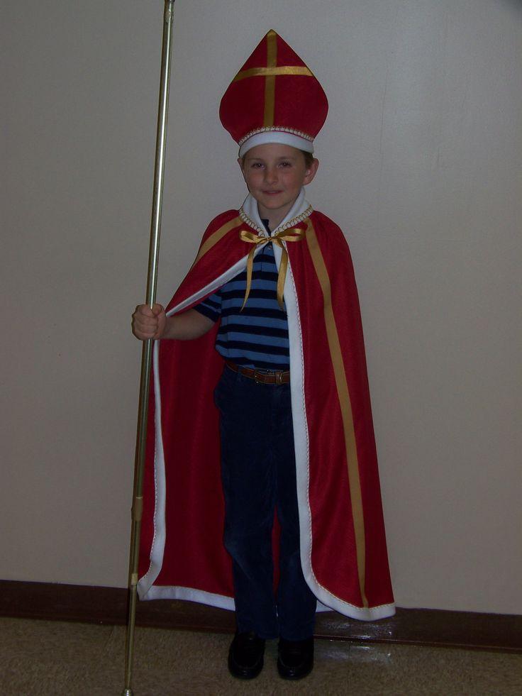 St Nicholas Bishop Of Myra Costume For Boys Boys