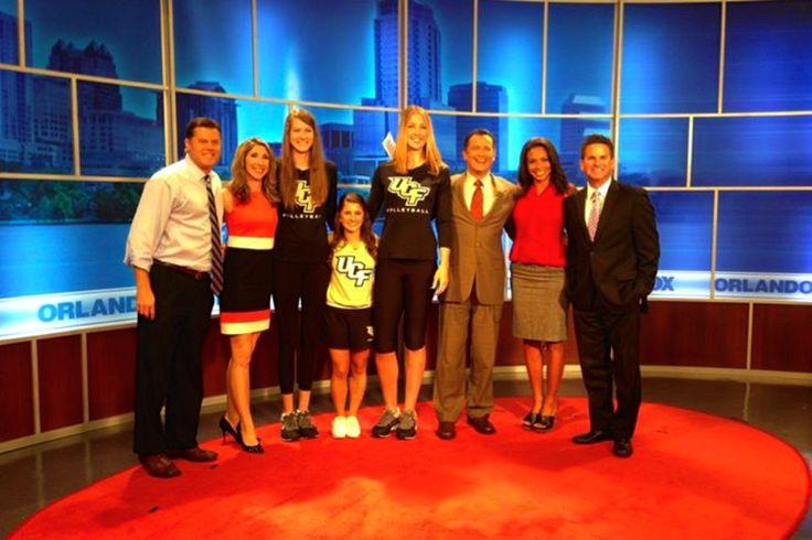 Fox 35 Interview Orlando UCF Cheer Cheerleading