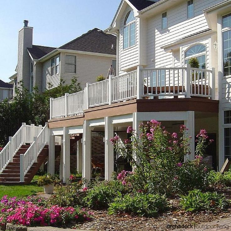 84 best images about Elevated and raised deck ideas on ... on Raised Patio Designs  id=63192