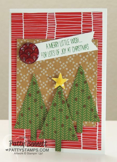 Festival Of Trees Creative Challenge Club Card Pattys