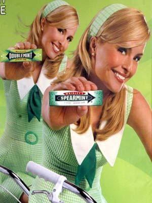 Doublemint Twins Double Your Pleasure Double Your Fun