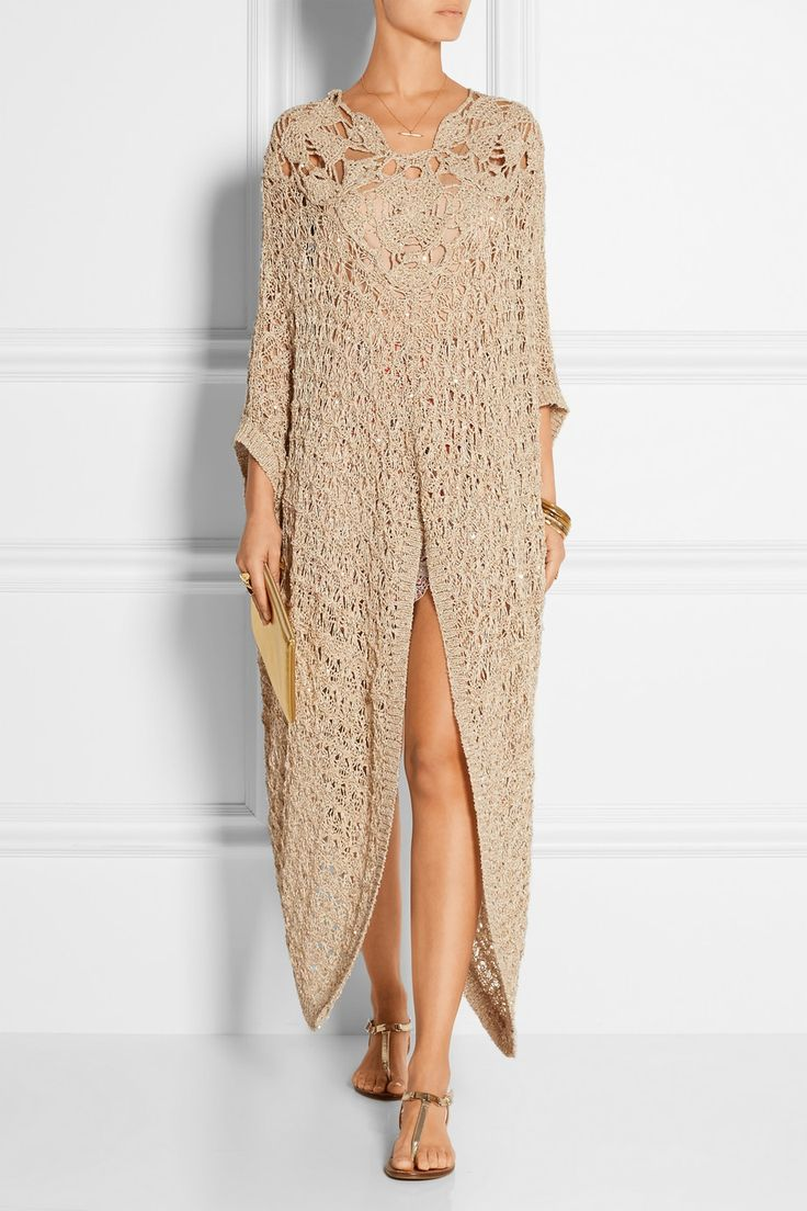 Anna Sui Embellished Crocheted Kaftan My Style Haves Wants And Wish