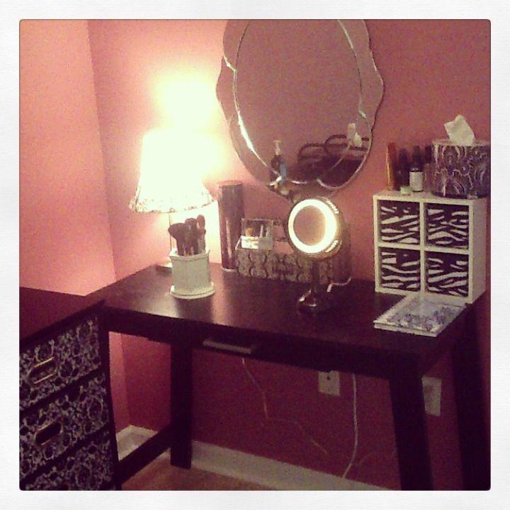 Vanity Ideas Wrining Table Walmart 3999 Mirror Hobby