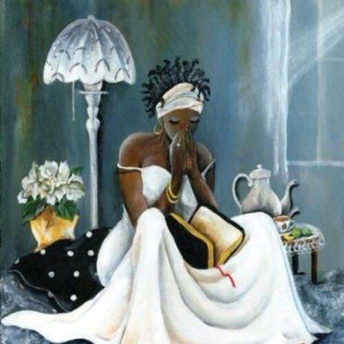 Happy Birthday Religious African American Woman