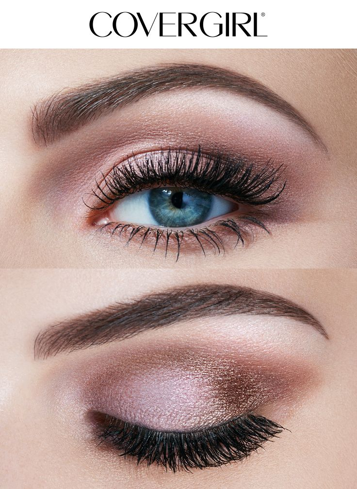 Create A Soft Natural Eye Look Using COVERGIRLS TruNaked