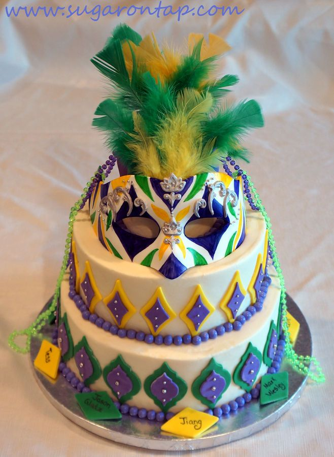 1000 Images About Mardi Gras Cookies Cakes Amp Ideas On
