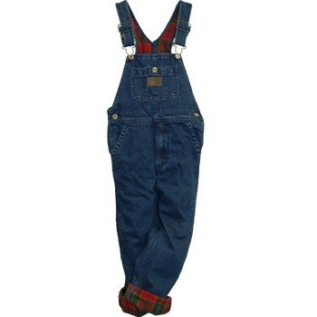 flannel lined insulated soft washed denim bib overall on insulated overalls for men id=71759