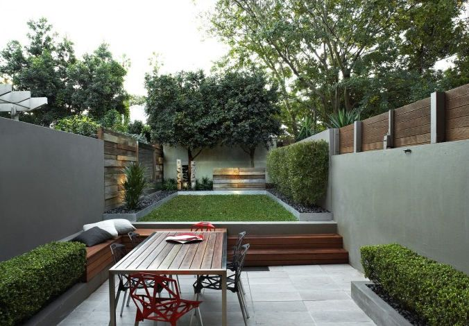 22 best images about Modern Garden Design Ideas on ... on Small Urban Patio Ideas id=77665
