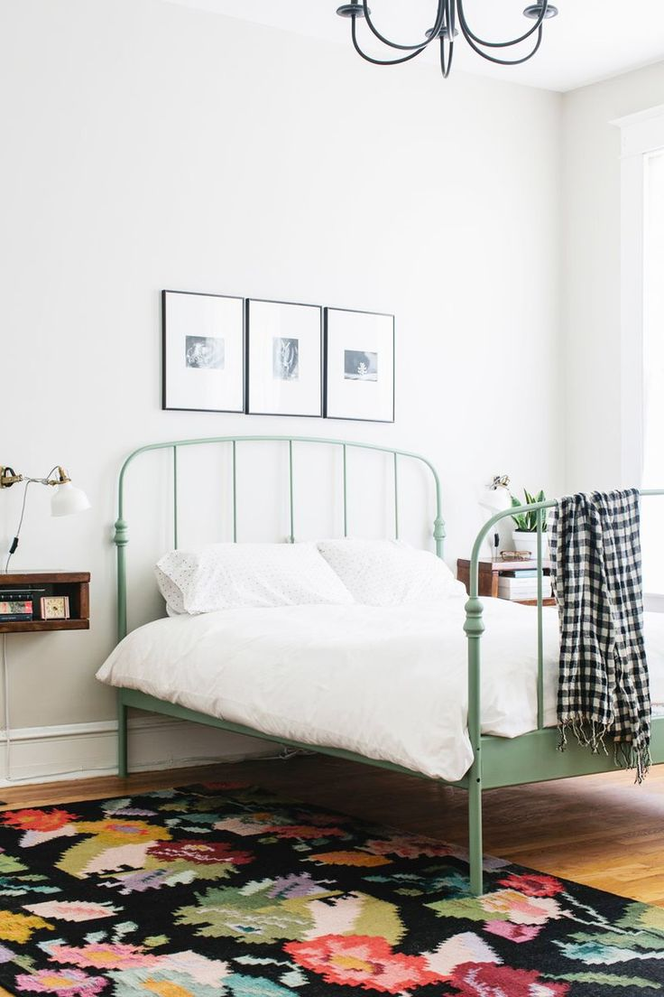 Best 25 Painted Iron Beds Ideas On Pinterest Iron Bed
